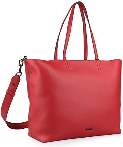 31 cm rouge x x Sac Calvin à l'épaule Klein à 17 porter 49 Rouge femme pour ZSw7Zaq