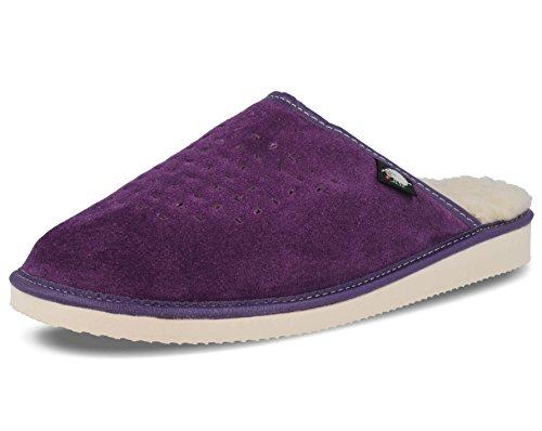 Femme 3 37 Chaussons 1 Ecoslippers Violet Violet Pour BCqRwwxgE