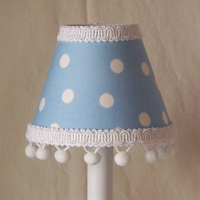 Silly Bear Lighting Little Boy Chandelier Shade, Blue by Silly Bear Lighting (Image #1)