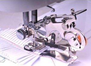 Ruffler Sewing Machine Presser Foot - Fits All Low Shank Singer, Brother, Babylock, Husqvarna Viking (Husky Series), Euro-pro, Janome, Kenmore, White, Juki, Bernina (Bernette Series), New Home, Simplicity, Necchi and Elna Sewing Machines -  mandy