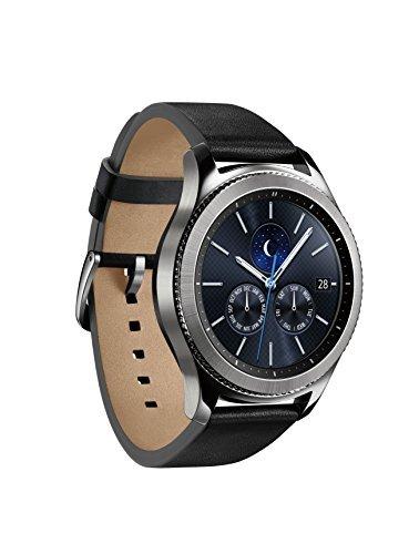 Samsung Gear S3 Classic Smartwatch (Bluetooth),  SM-R770NZSAXAR - US Version with Warranty (Galaxy S Gear Samsung)