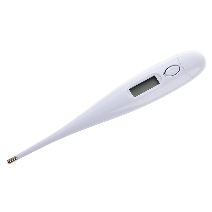 TOOGOO(R) Termometro medico digital de alta precision Cuerpo LCD Oral Axila Fiebre Primeros auxilios Bebe nino adulto: Amazon.es: Salud y cuidado personal