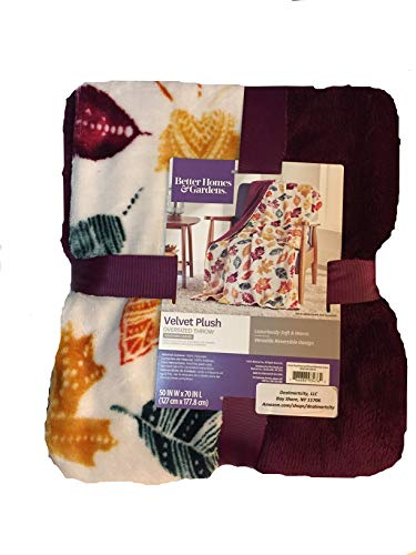 Better Homes and Gardens Throw Blanket (Bohemian Leaves) from Better Homes & Gardens
