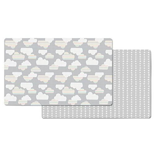 Skip Hop Doubleplay Reversible Playmat - Cloud/Mini Dot