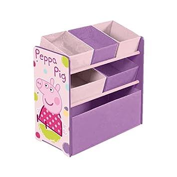Arditex PP8379 - Armario organizador, 5 cestas, diseño Peppa pig: Amazon.es: Bebé