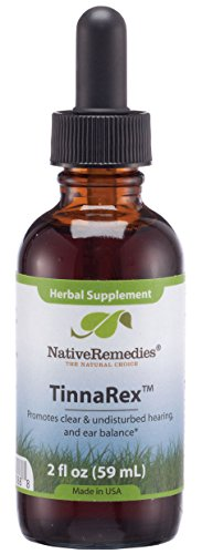 Native Remedies Tinnarex For Ear Clarity  Nerve And Circulation Health
