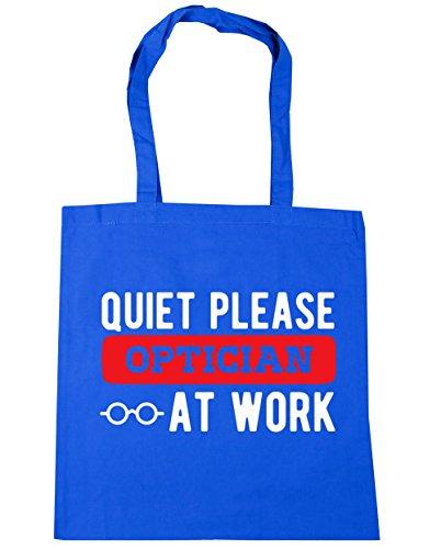 42cm optician Blue Quiet Cornflower please at Bag Gym Tote Shopping work litres Beach 10 x38cm HippoWarehouse EvHqZZ