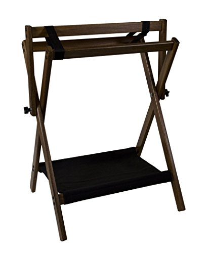 (Horse Fare Products Wood Folding Saddle Rack )