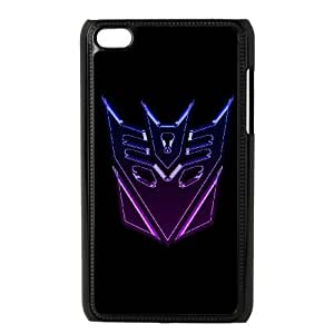 ipod touch 4 phone cases Black Transformers cell phone cases Beautiful gifts YWTS0410587
