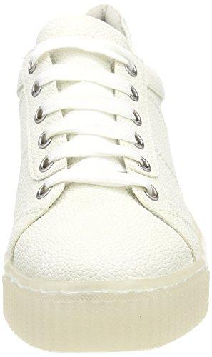 Tamaris 23736, Sneakers Basses Femme Blanc (White)