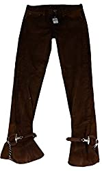 Ralph Lauren Collection Sueded Cotton Skinny Jeans Women Size 29