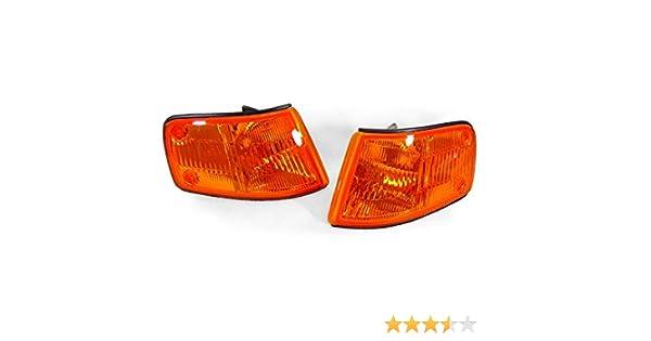 DEPO 88-89 HONDA CRX LED BULBS CR-X CRYSTAL SMOKE BUMPER SIGNAL LIGHTS LAMPS