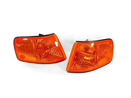 REVi MotorWerks DEPO JDM SPEC Amber Corner Lights Set FIT for 1988-1989 Honda CRX CR-X EF Si