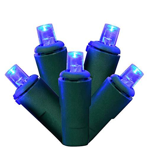 Blue Led Christmas Light Strings