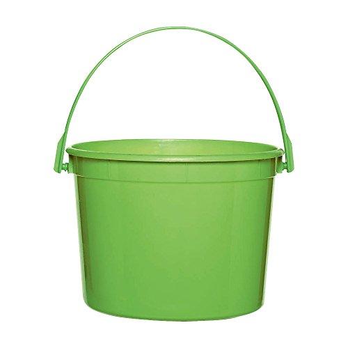 Kiwi Green Plastic Bucket by Amscan (Image #2)