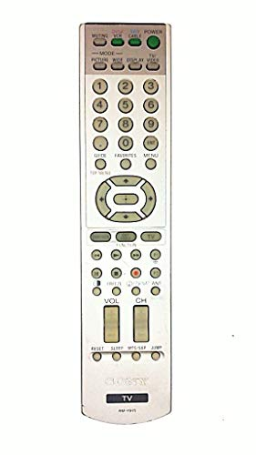 (SONY RM-Y915 TV / VCR / SAT / CABLE / AUDIO SYSTEM REMOTE CONTROL - Remote Commander RMY915 / 1-478-918-11 / 147891811)