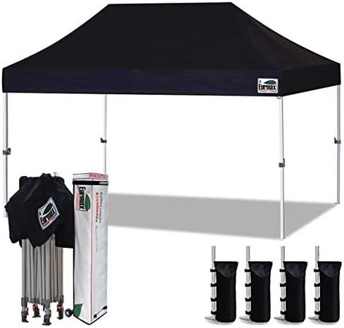 Eurmax 10'x15' Ez Pop Up Canopy Tent Commercial Instant Canopie