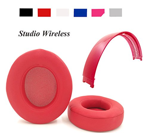 Studio 2.0 Earpads Headband Replacement Ear Cushion Top Band For Beats Studio Wireless Over-Ear Headphones