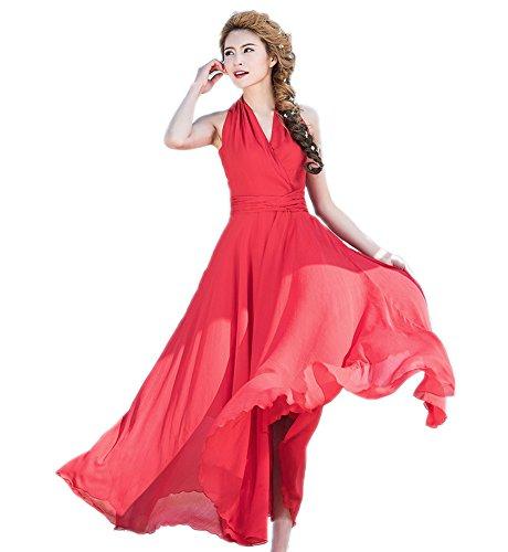 Engerla - Vestido - trapecio - para mujer Rosso
