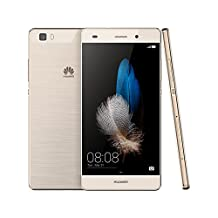 Huawei P8 Lite ALE-L21 16GB Gold, Dual Sim, 5-Inch, Unlocked Smartphone, International Stock, No Warranty