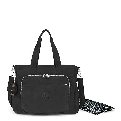 Kipling Miri Solid Diaper Bag, Black