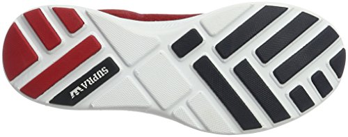 Supra Run Men's Hammer Rot white Red Shoe Skate w6wpErq