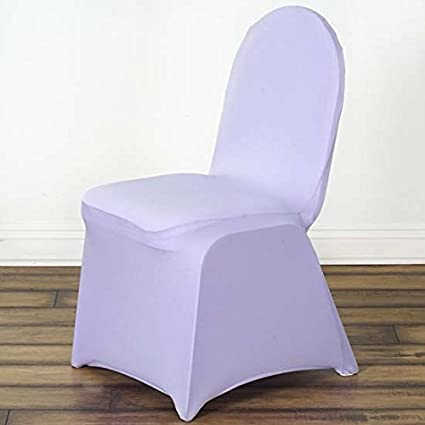 Peachy Efavormart 50Pcs Lavender Stretchy Spandex Fitted Banquet Chair Cover Dinning Event Slipcover For Wedding Party Banquet Catering Gmtry Best Dining Table And Chair Ideas Images Gmtryco