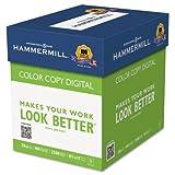 Hammermill Copy Paper, 100 Brightness, 28lb, 8-1/2 x 11, Photo White, 2500/Carton