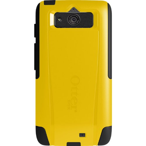 OtterBox Commuter Series Case for Motorola DROID Mini - Retail Packaging - Yellow/Black (Mini Motorola Droid Phone Case)