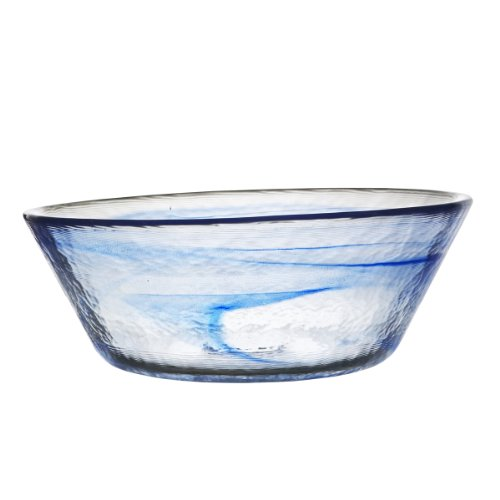 - Kosta Boda Mine Bowl, Large, Blue