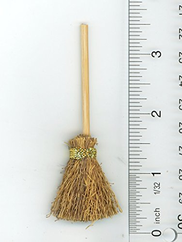 Miniature Witch - Dollhouse Miniature Witches Broom by International Miniatures