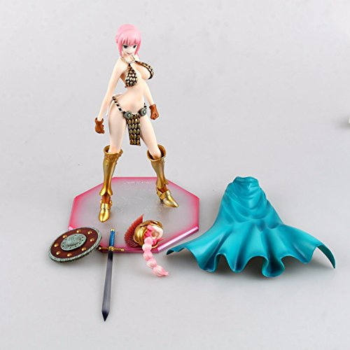 Anime One Piece Sexy Gladiator Rebecca dolls Action Figure,sex Take off Dolls,One Piece Figure Toys