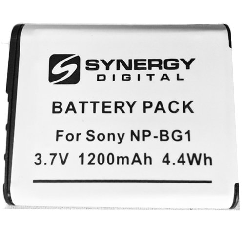SD-NP-BG1 Rechargeable Lithium-Ion Battery - Replacement for Sony NP-BG1 Battery Bg1 Lithium Ion Rechargeable Battery