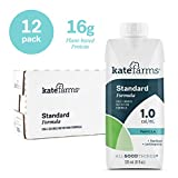 Kate Farms Standard 1.0 Vanilla Meal Replacement Formula Drink, 11 Fluid Ounces, [Case of 12]