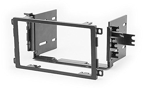 Chevrolet Dash Trim - Carav 11-533 Double Din Car Radio Stereo Face Facia Fascia Panel Frame DVD Dash Installation Surrounded Trim Kit for BUICK/CHEVROLET/HUMMER H2/PONTIAC/SUZUKI/TOYOTA Matrix with 17398mm