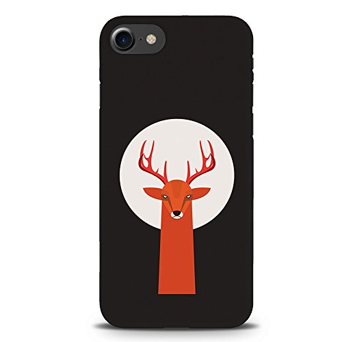 Koveru Back Cover Case for Apple iPhone 7 - Red Deer Moon