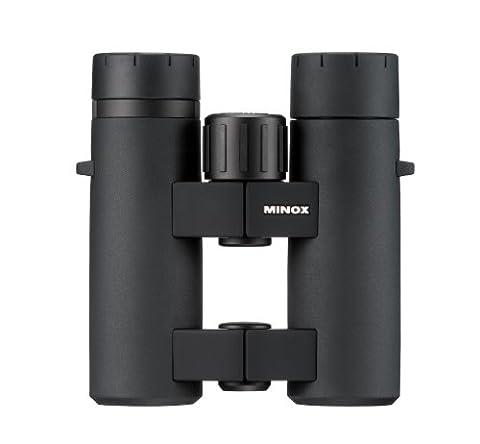 MINOX Comfort Bridge 62197 BL 8x33 BR Mid-Size Waterproof Binocular (Black) (Minox 8x33 Bl Binoculars)