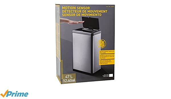Amazon.com: EKO Interior Trash bin with lid, with with Inner Box: Wall Art