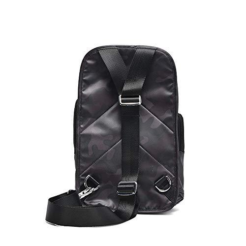 Sling väska män bröstväska enkel vardaglig bröstväska sned crossbody väska utomhus sport bröstväska lämpliga platser: fritid, sport. för män kvinnor resor utomhus affärer
