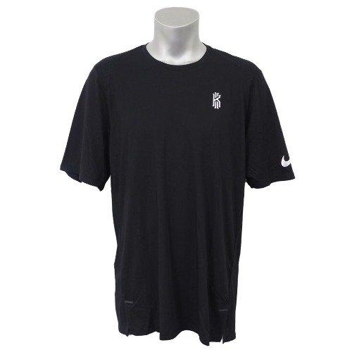 Nike(ナイキ) KYRIE/カイリー カイリーアービング ショートスリーブ トップ Tシャツ (ブラック/ホワイト) XL  B0792RBX4Y