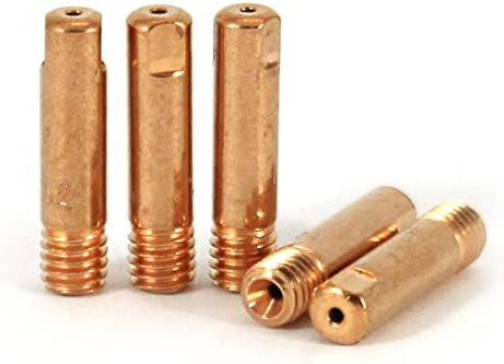 25 PACK CONTACT TIP 045 STD MODEL 15-045B PROFESSIONAL MIG WELDING STANDARD COPPER.