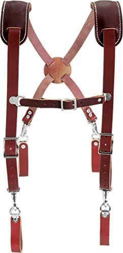 Occidental Leather 5009 Leather Work Suspenders by Occidental Leather