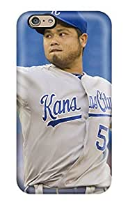 Durable Kansas City Royals Back Case/cover For Iphone 6