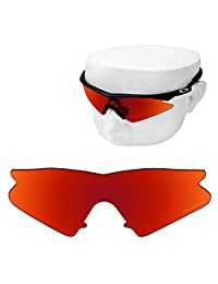 e83eb1557c OOWLIT Replacement Sunglass Lenses for Oakley M Frame Sweep Polarized