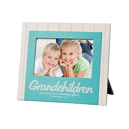 Lighthouse Christian Products Grandchildren Beadboard Frame, 4 x 6