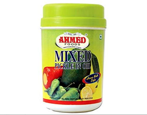 Ahmed food mixed pickle in oil, Brown ()