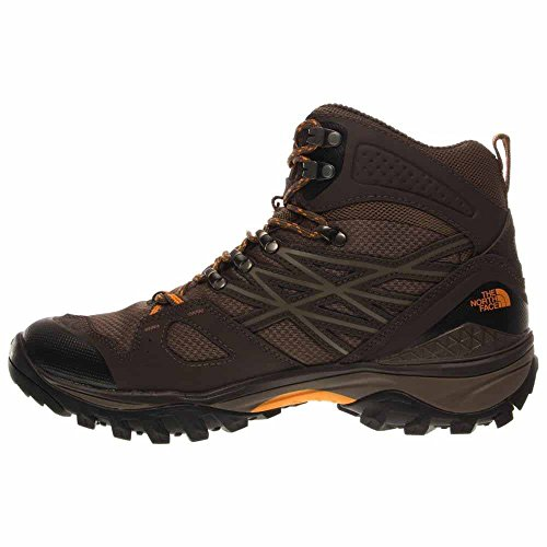 La Faccia Nord Mens Hedghog Fastpack Mid Gtx Shroom Brown / Brushfire Orange