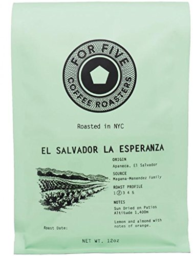 For Five Coffee Roaster El Salvador La Esperanza Ground 12oz