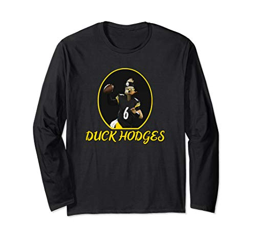Pittsburgh Football – Duck Hodges Long Sleeve T-Shirt