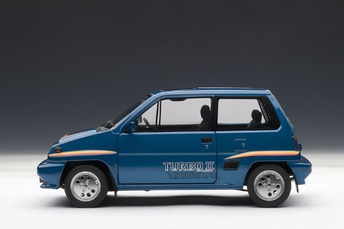 Amazon.com: AUTOart 1/18 Honda City Turbo II (Blue) ¦ Motokonpo / White: Toys & Games